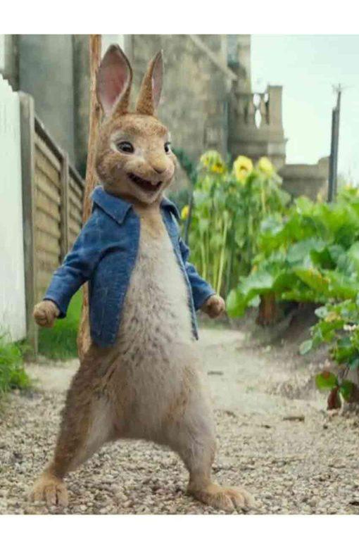 Peter Rabbit 2 Blue Denim Jacket