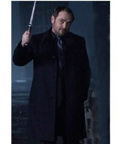 Supernatural Crowley Mark Sheppard Black Coat