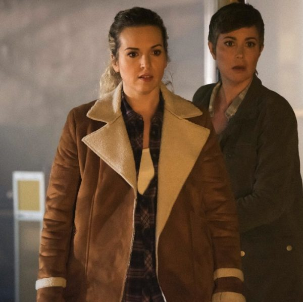 Supernatural Donna Hanscum Brown Jacket