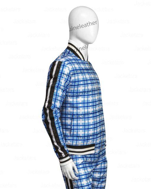 The Gentlemen Coach Collin Farrel Blue Track suit