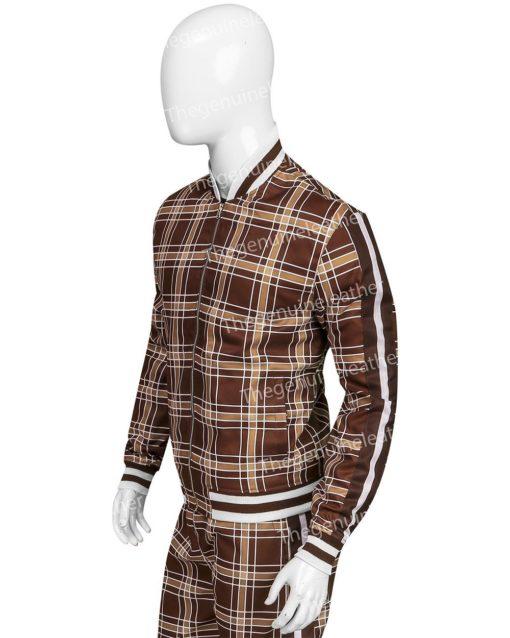 The Gentlemen Coach Collin Farrel Brown Track suit