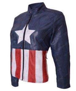 Captain America Leather Jacket