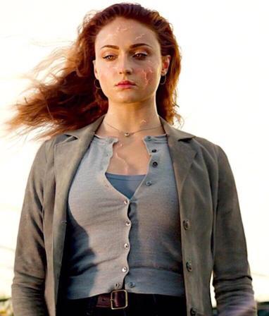 Dark Phoenix Sophie Turner Phoenix Coat