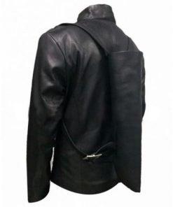 Hector Escaton Westworld Black Leather Jacket