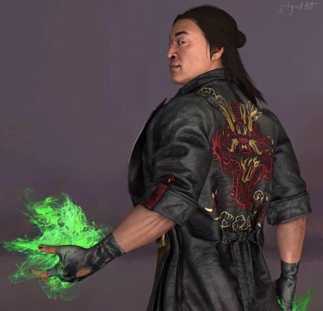 Mortal Kombat 11 Shang Tsung Coat Shang Tsung Black Leather Coat