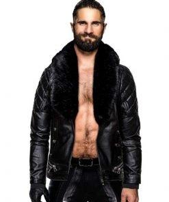 Seth Rollin WWE Black Jacket