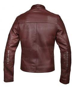 Star Trek Picard Seven of Nine Brown Leather Jacket