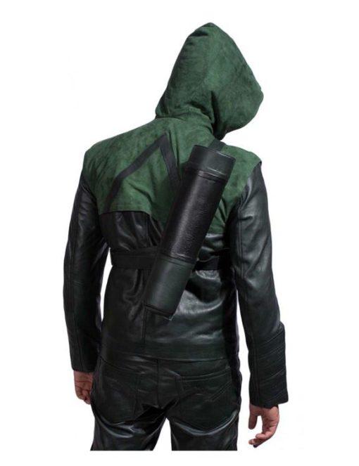 Stephen Amell Green Jacket