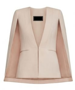 Westworld Charlotte Hale Tessa Thompson Pink Coat