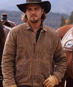 Yellowstone Luke Grimes Brown Jacket