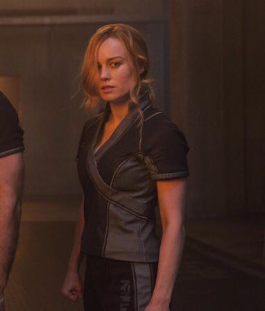 Captain Marvel Carol Danvers Arena Jacket