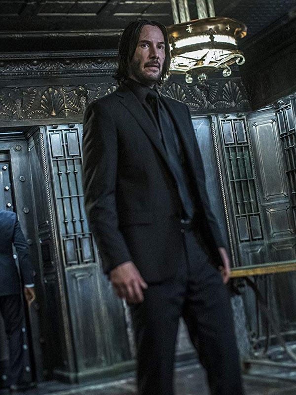 John Wick 3 Keanu Reeves Suit
