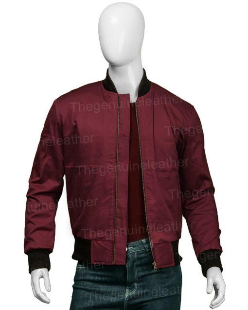 Barry Allen The Flash Bomber Jacket