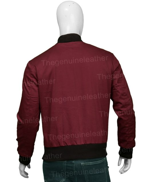 Barry Allen The Flash Bomber Red Jacket