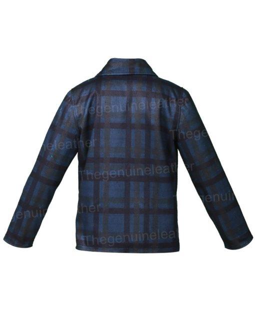 Beth Dutton Yellowstone Blue Flannel Jacket
