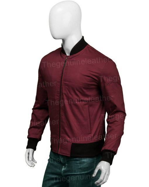 Grant Gustin The Flash Bomber Jacket