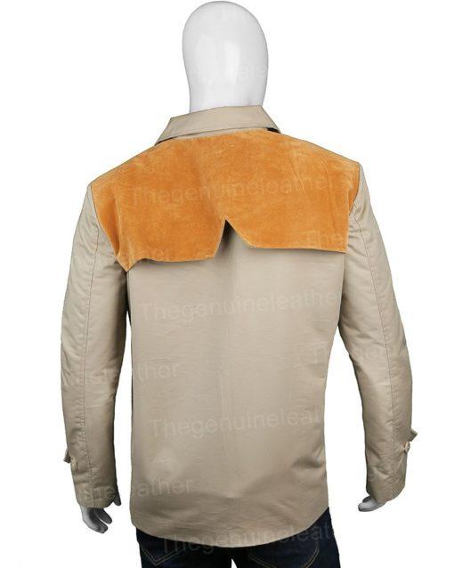 John Dutton Yellowstone Beige Cotton Jacket