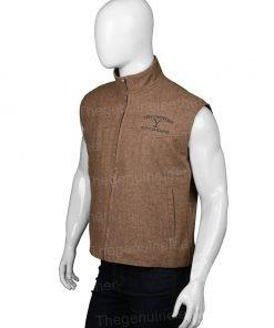 Yellowstone John Dutton Brown Vest