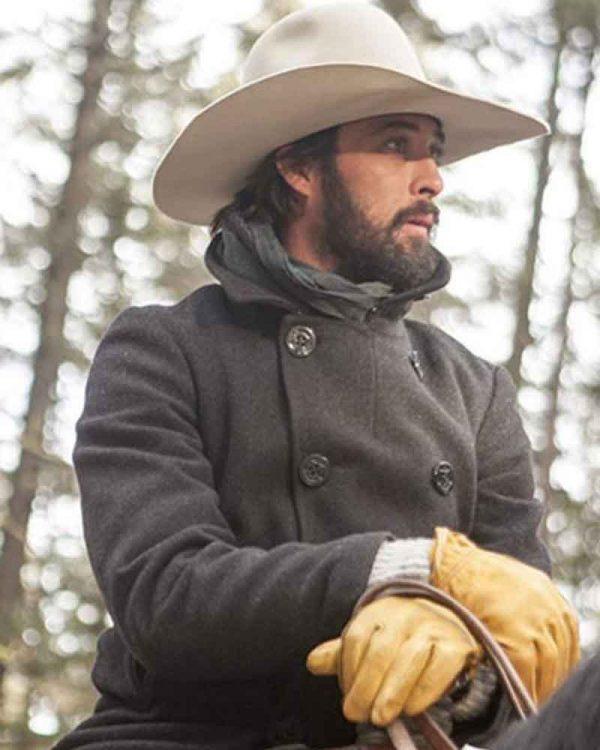 Yellowstone Ryan Wool Peacoat