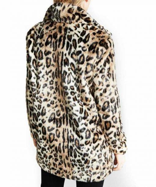 Yellowstone S02 Beth Dutton Cheetah Print Coat