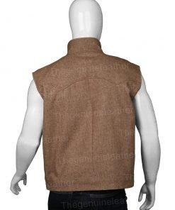 Yellowstone S03 John Dutton Brown Vest