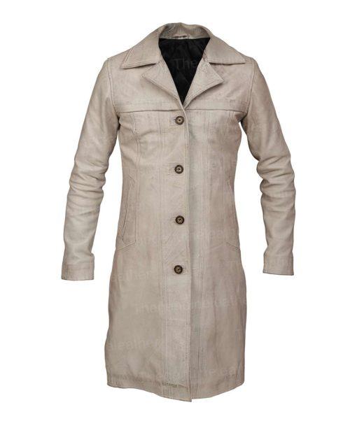 Beth Dutton Long Leather Coat