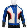 Men Overwatch Soldier 76 Motorcycle Jacket