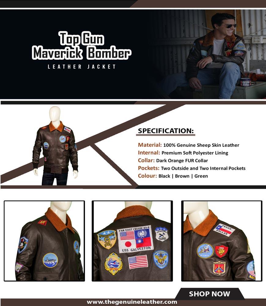 Top Gun Maverick Bomber Jacket