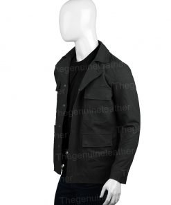 Westworld Bernard Lowe Black Cotton Jacket