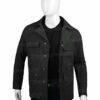 Westworld Bernard Lowe Black Jacket