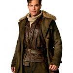 Wonder Woman Chris Pine Trench Coat