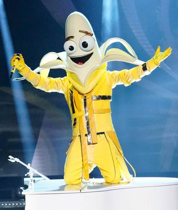 Bret Michaels The Masked Singer Banana Yellow Jacket
