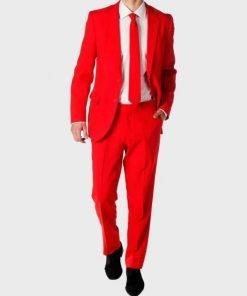 Red Coat Devil 3 Piece Red Suit