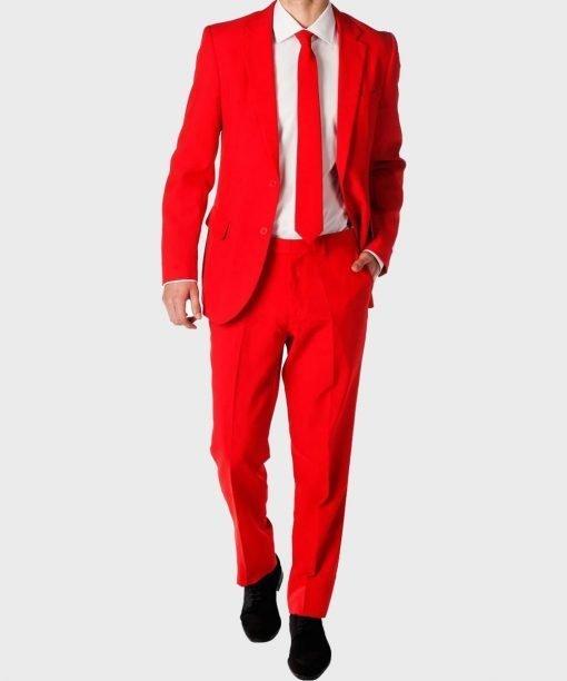 Devil Red Suit