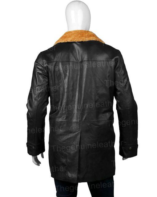 Gangs of London Kinney Edwards Black Leather Coat