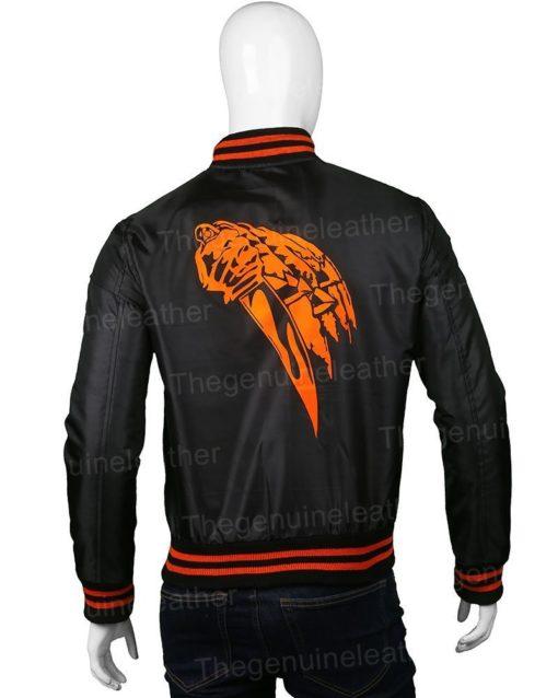 Halloween 78 Black Bomber Jacket