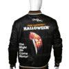 Halloween John Carpenter 1978 Black Bomber Jacket