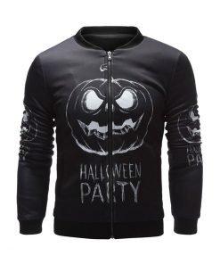 Halloween Party Black Bomber Jacket