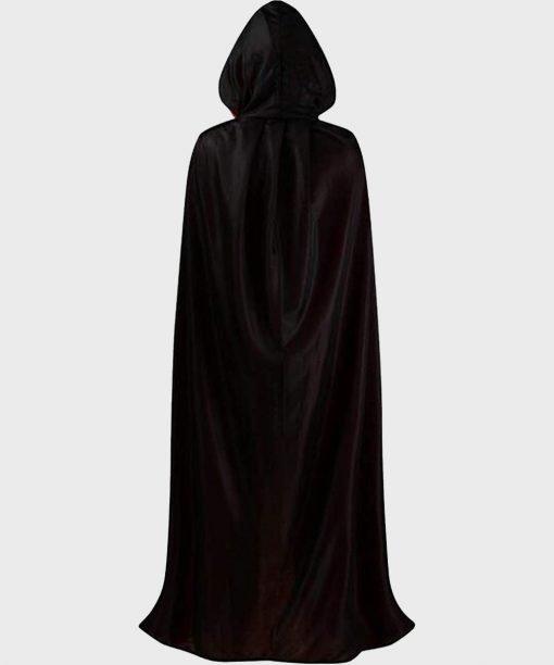 Halloween Vampire Wool Black Cloak