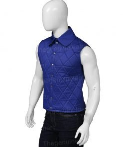 John Dutton Yellowstone Blue Vest