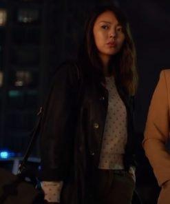 Kamilla Hwang The Flash Coat
