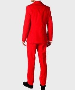 Mens Devil Red Suit
