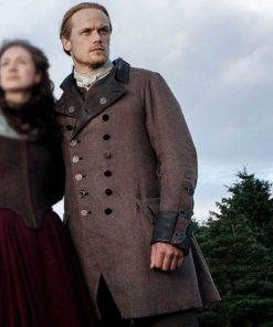 Outlander S05 Jamie Fraser Double Breasted Coat