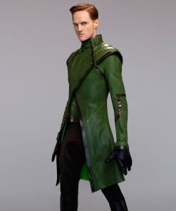 Stargirl Henry King Sr. Leather Coat