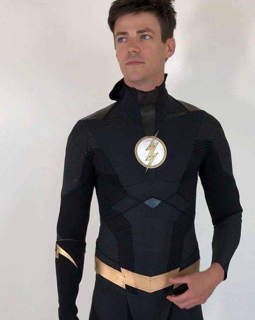 The Flash Barry Allen Black Jacket