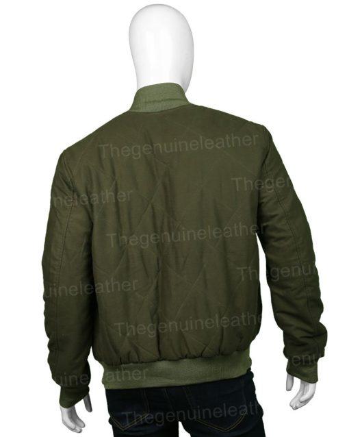 The Flash Nash Wells Bomber Jacket