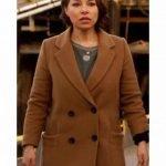 The Flash S05 Nora West Allen Trench Coat
