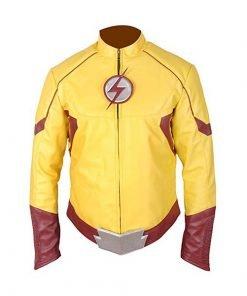 The Kid Flash Leather Jacket