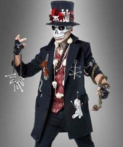 Voodoo Priest Black Coat