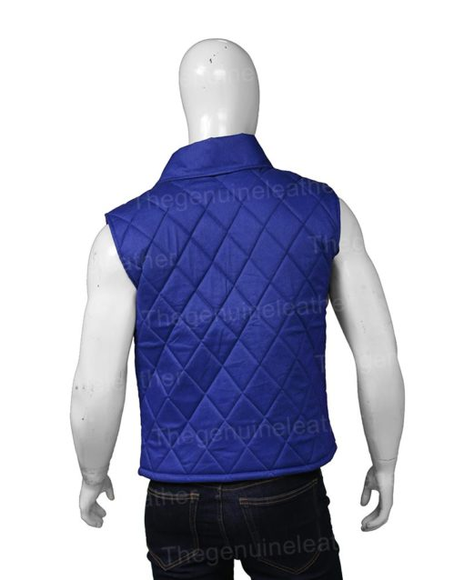 Yellowstone John Dutton Blue Vest